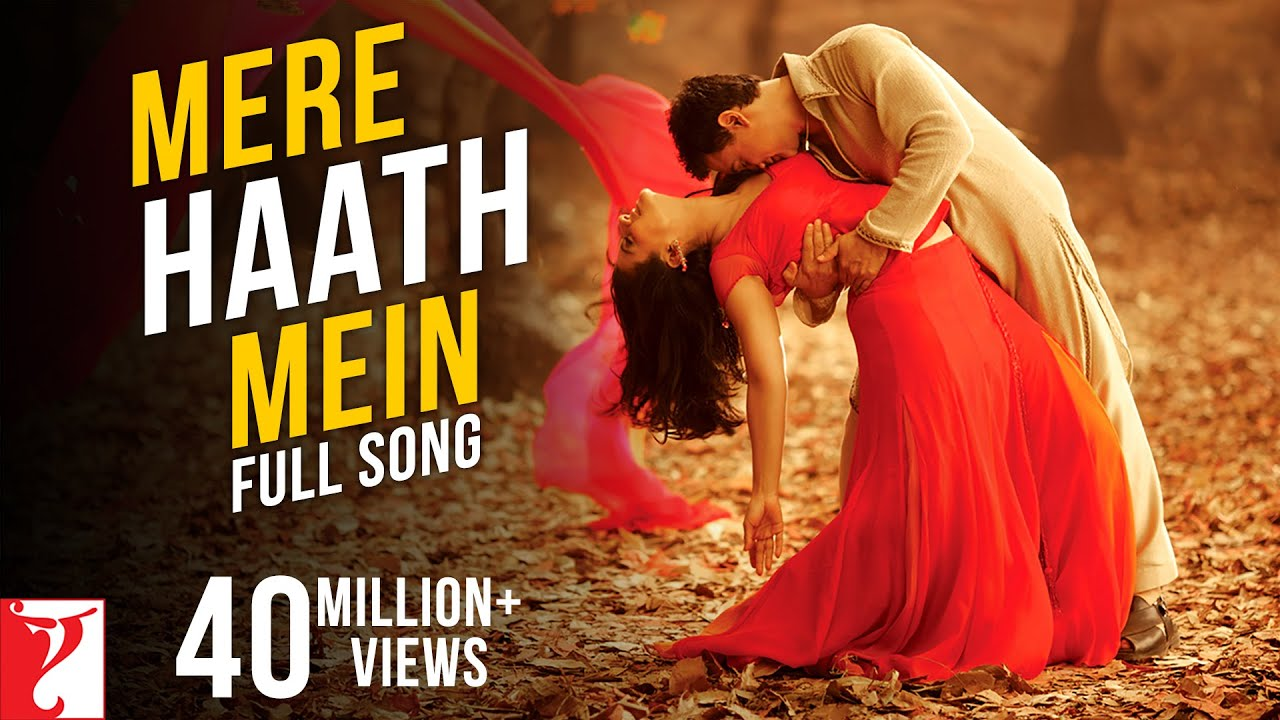 Mere Haath Mein Lyrics in Hindi and Mere Haath Mein Lyrics in English. Mere Haath Mein Tera Haath Ho is a Hindi song from the Hindi movie Fanna (2006) starring Amir Khan and Kajol. This song is sung by Sonu Nigam and Sunidhi Chauhan. This song is also searched as mere hath me tera hath ho lyrics.