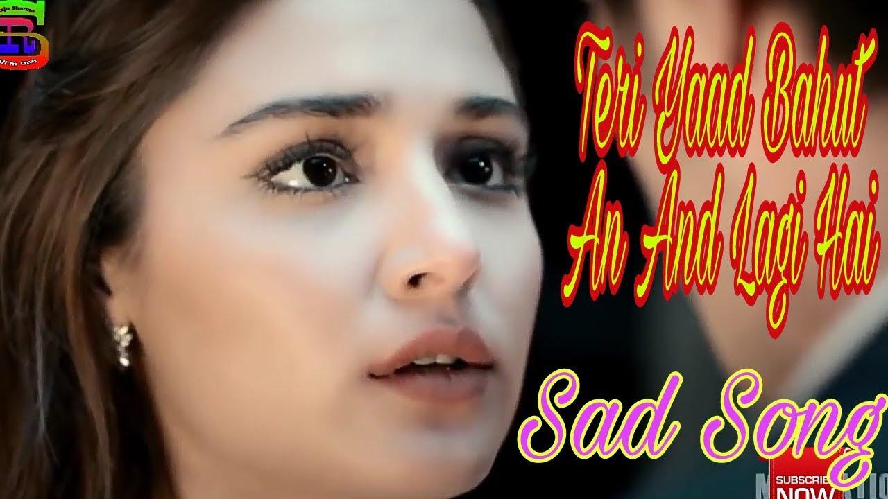 Teri Yaad Bahut Ab Aane Lagi Hai Lyrics in Hindi and English - Sunidhi Chauhan, Arnab, Eight (2006)