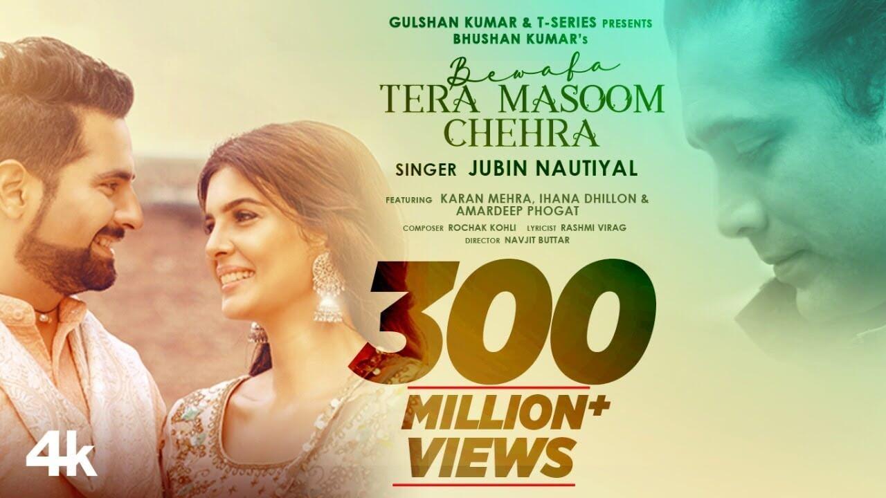 Bewafa Tera Masoom Chehra Lyrics in Hindi and English - Rochak Kohli, Jubin Nautiyal, Hindi song 2020