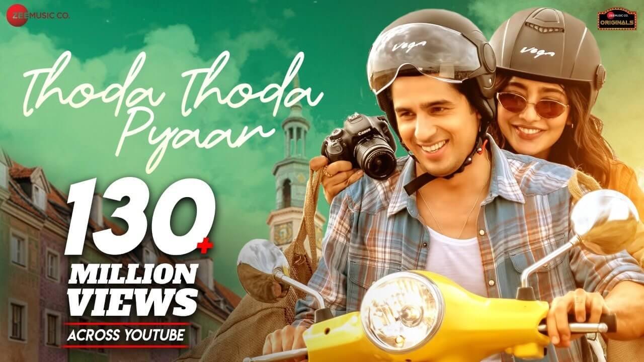 Thoda Thoda Pyaar Lyrics in Hindi and English - Stebin Ben, Hindi song 2021