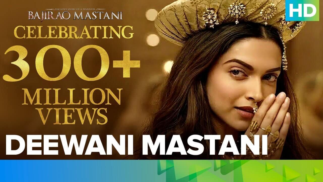 दीवानी मस्तानी Deewani Mastani Lyrics in Hindi and English - Bajirao Mastani (2015), Shreya Ghoshal