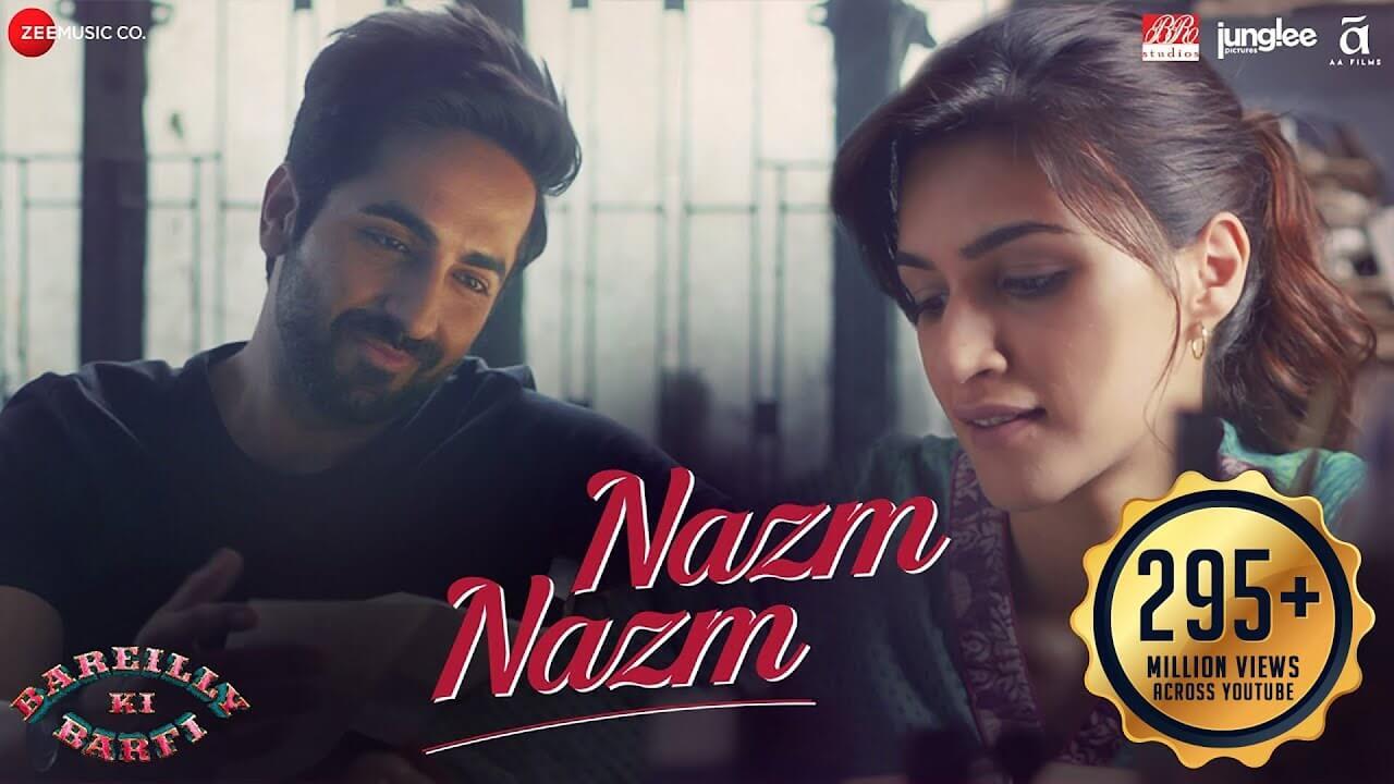 नज़्म नज़्म Nazm Nazm Lyrics in Hindi and English - Bareilly Ki Barfi (2017), Arko Pravo