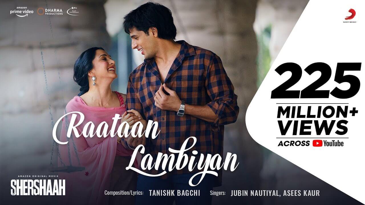रातां लंबियाँ Raataan Lambiyan Lyrics in Hindi and English - Shershaah (2021), Jubin Nautiyal, Asees Kaur
